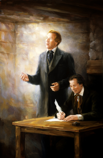 Joseph Smith Speaking By Inspiration
