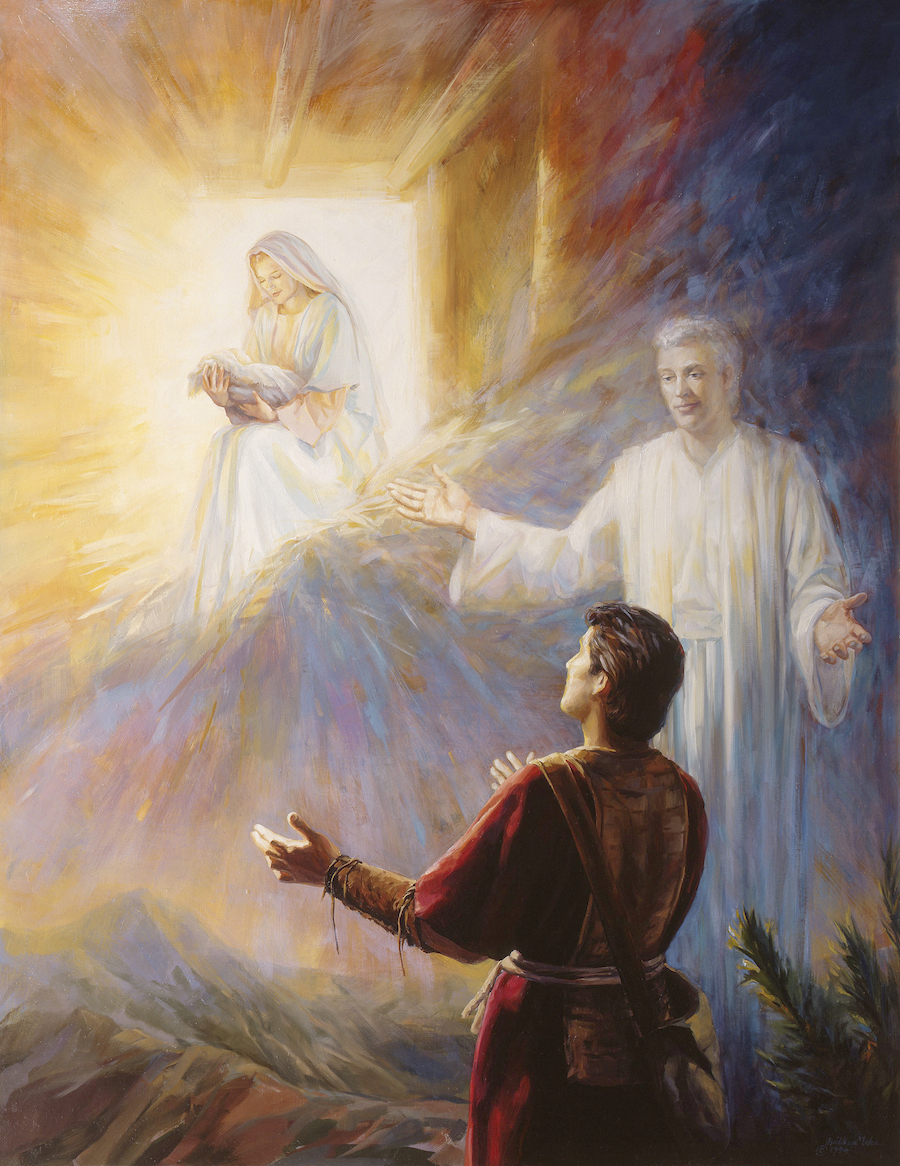 Nephi's Vision of the Virgin Mary