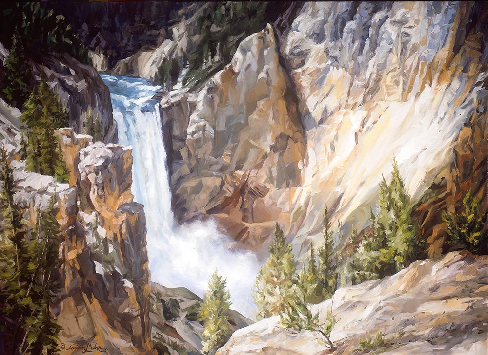 Yellowstone Falls II