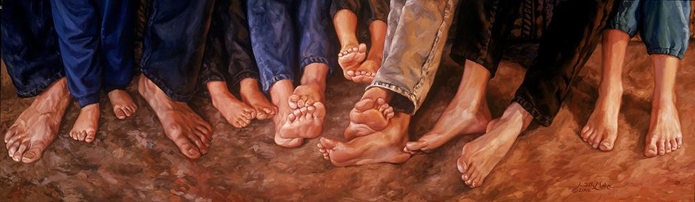 Mehr Family Feet