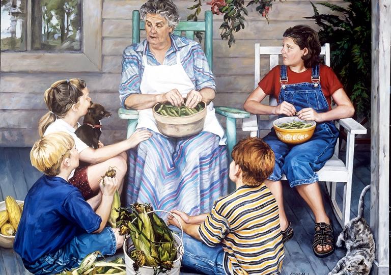 Grandma is a Story Teller