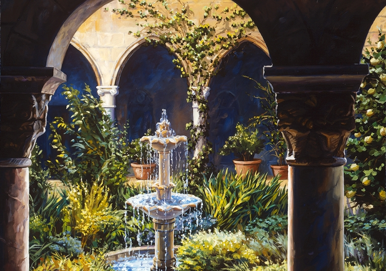 Cloistered Fountain