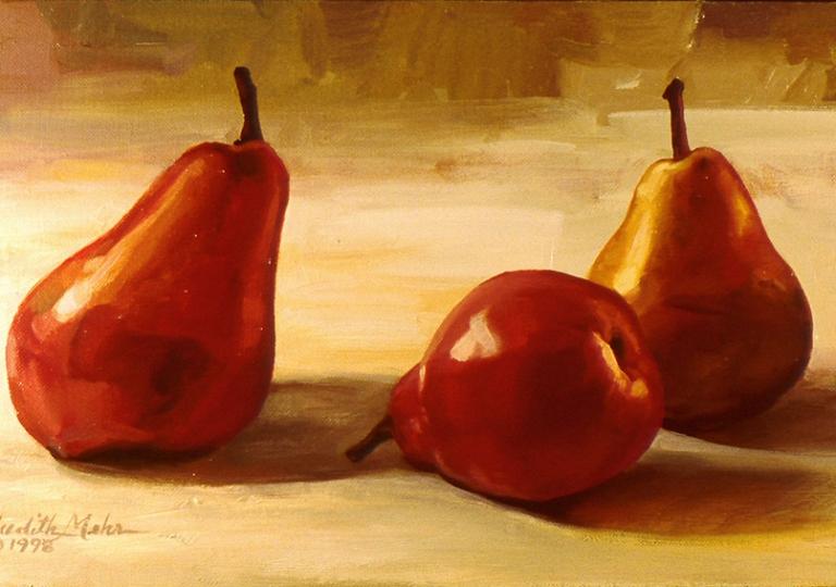 Crimson Pears # 2